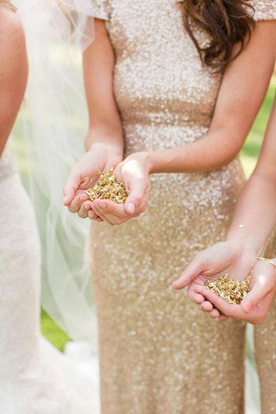 Сусальное золото для обсыпания (хлопья, 2 гр)