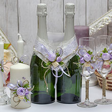 Комплект аксессуаров для свадьбы Прованс (3)