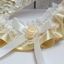 Подвязка для невесты Нежная
