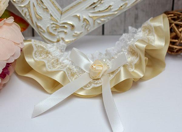 """Подвязка для невесты """"Нежная"""""""