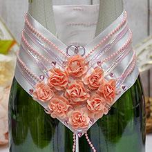 """Украшение для шампанского """"В цвету"""""""