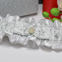 Подвязка для невесты Русские узоры