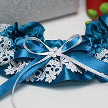 Подвязка для невесты Всплеск