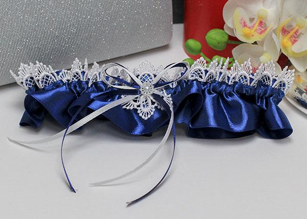 """Подвязка для невесты """"Иней"""""""