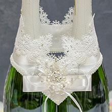 """Украшение для шампанского """"Мильфлёр"""""""