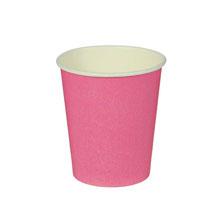 Набор однотонных бумажных стаканчиков (10 шт)