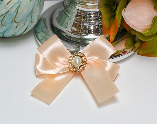 Бутоньерка для жениха Винтажный шик (персиковый)
