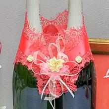 """Украшение для шампанского """"Яркий праздник"""""""