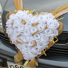 Лента на авто Адажио (белый)