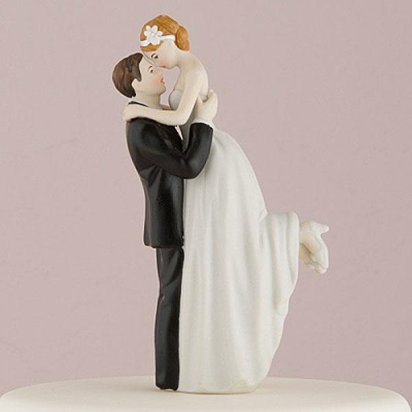 """Свадебная фигурка в торт """"Нежность"""""""