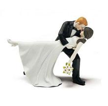 """Свадебная фигурка в торт """"Танец любви"""""""