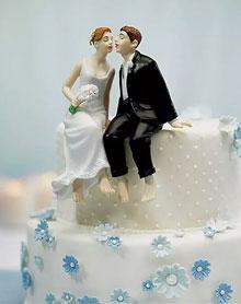 """Фигурка в торт """"В облаках от счастья"""""""