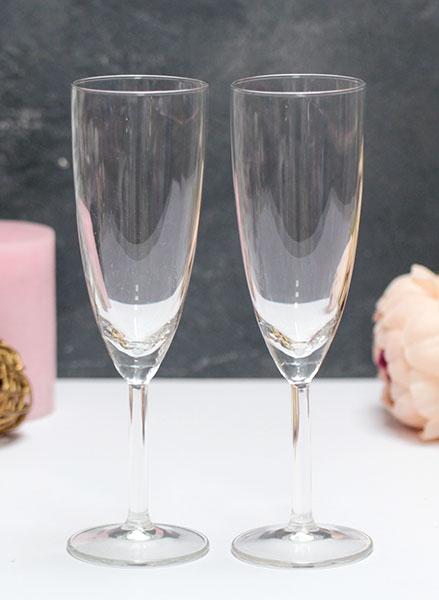 Пара бокалов для шампанского (подходят для битья)