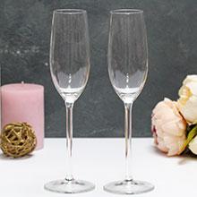 Высокие бокалы для шампанского (2 шт)