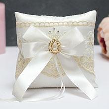 Свадебная подушечка для колец Винтажный шик
