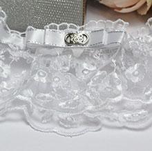 "Свадебная подвязка на ножку ""Дарина"""