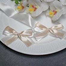 Комплект свадебных аксессуаров для свидетелей Бантик