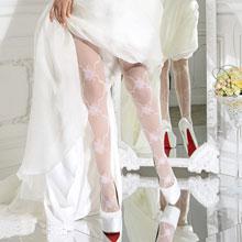 Свадебные колготки Charmante SAPIENTE (шампань, 30 den, s/m)