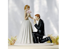 """Свадебная фигурка в торт """"Признание"""""""