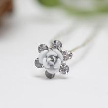"""Шпилька для невесты """"Ice flower"""", 0,9 см"""