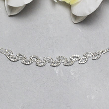 """Свадебный браслет для невесты """"Лепесточки"""""""