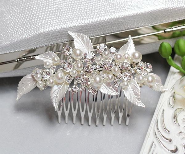 """Свадебный гребень для невесты """"Очаровашка"""", 2D"""