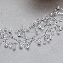 Гибкий ободок для невесты