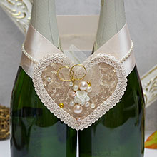 """Украшение для шампанского """"Античное золото"""""""