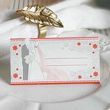 """Банкетная карточка """"Волшебная пара"""""""