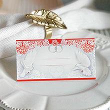 """Рассадочная карточка для гостей """"Невесомость"""""""