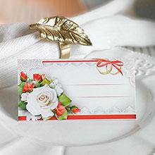 """Рассадочная карточка на свадьбу """"Страсть"""""""