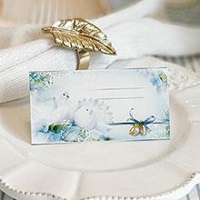 """Рассадочная карточка для гостей """"Голуби"""""""