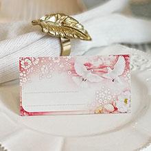 """Рассадочная карточка для гостей """"Полет"""""""