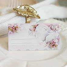 Рассадочная карточка на свадьбу
