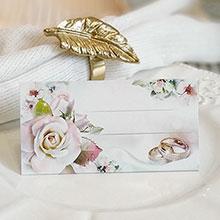 """Рассадочная карточка """"Цветочный сад"""""""