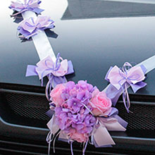Лента для свадебной машины
