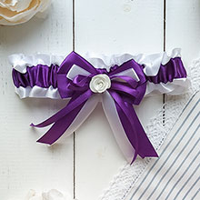 Подвязка Fantastic (фиолетовый)