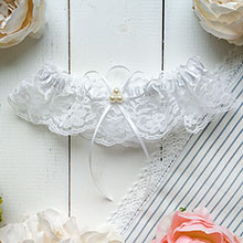 Подвязка для невесты Angel