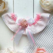 Подвязка для невесты Арина (розовый)