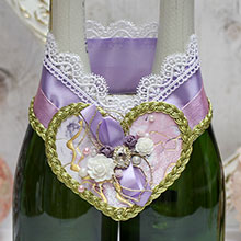 """Декоративное украшение для шампанского """"Версаль"""""""