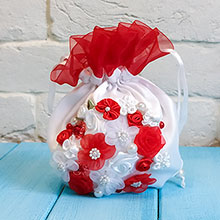 "Свадебная сумочка ""Цветочная поляна"""