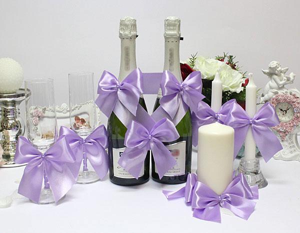 Набор свадебных аксессуаров Paradise (сиреневый)