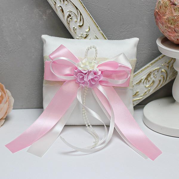 Подушечка для колец Romantic (розовый)