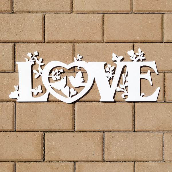 Слово для фотосессии LOVE (50 см) (белый)