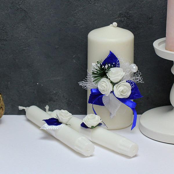 Домашний очаг Букетик (синий)