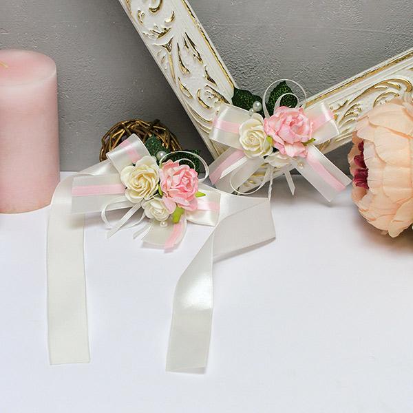 Набор свадебных аксессуаров для свидетелей Таинственный сад (айвори)