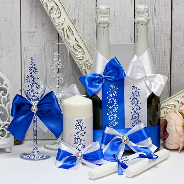 """Комплект свадебных аксессуаров """"Великолепная пара"""""""