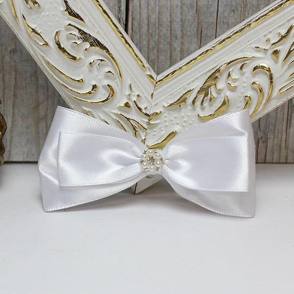 """Свадебная бутоньерка для жениха """"Цветочный вальс"""" (белый)"""