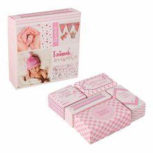 """Набор памятных коробочек """"Тайник малышки"""", розовый"""