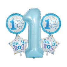 "Набор для создания букета из шаров ""First birthday"""